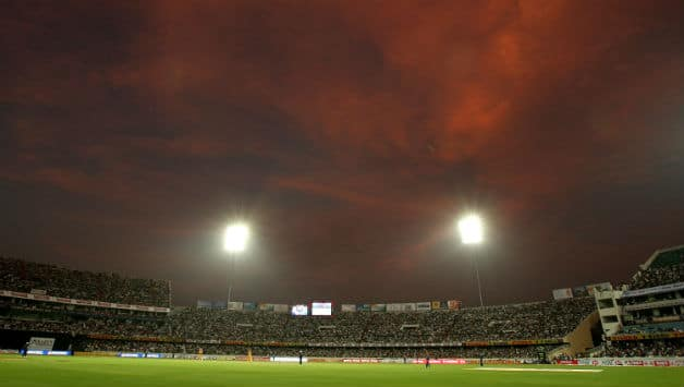 Hyderabad's Rajiv Gandhi Stadium will host the opening match of CLT20 2014 © Getty Images