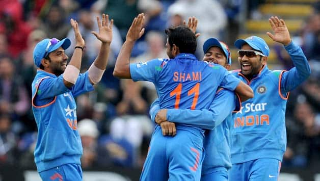 India romped to a victory in the second ODI © Getty Images