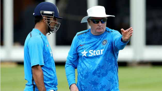 MS Dhoni had said that Duncan Fletcher will be with the team till the ICC World Cup 2015 which apparently didn't go down well with the BCCI officials © Getty Images