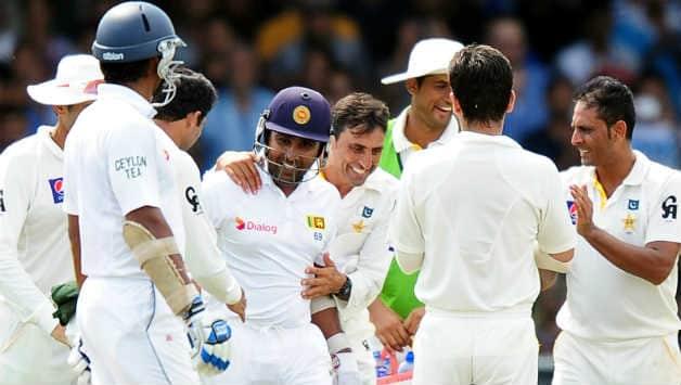 Mahela Jayawardene ended his Test career with 11, 814 runs © AFP