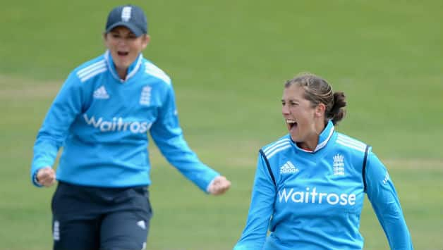 Jenny Gunn was pick of the bowlers with four wickets © Getty Images