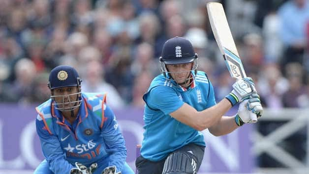 Jos Buttler (left) was dismissed immediately after hitting a boundary © Getty Images