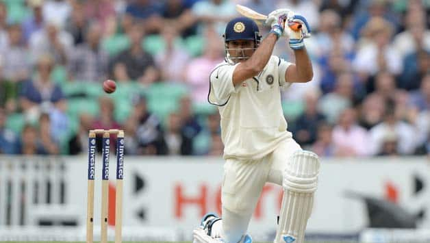 MS Dhoni completed his fourth fifty in the ongoing series © Getty Images