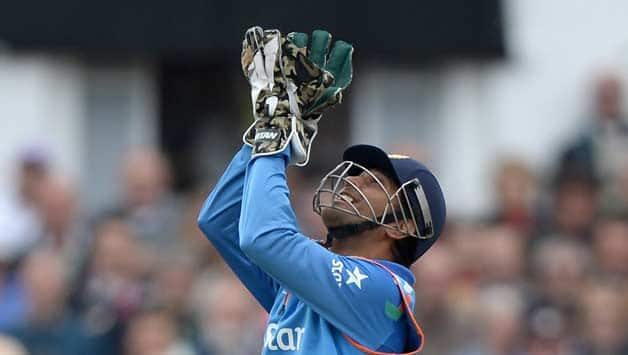 MS Dhoni was involved in three out of the four dismissals © Getty Images