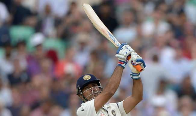 Mahendra-Singh-Dhoni-of-India-hits-out-for-six-runs-during-day-one-of-5th-Investec-Test-match5