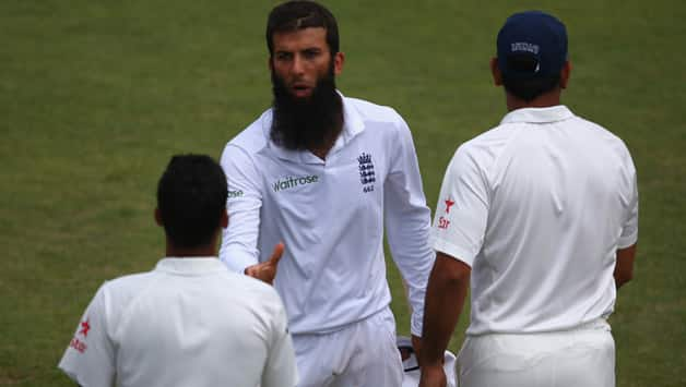 Moeen Ali's stature as spinner grew as he not only picked six wickets but struck with the wicket of key batsmen in the Indian top-order © Getty Images