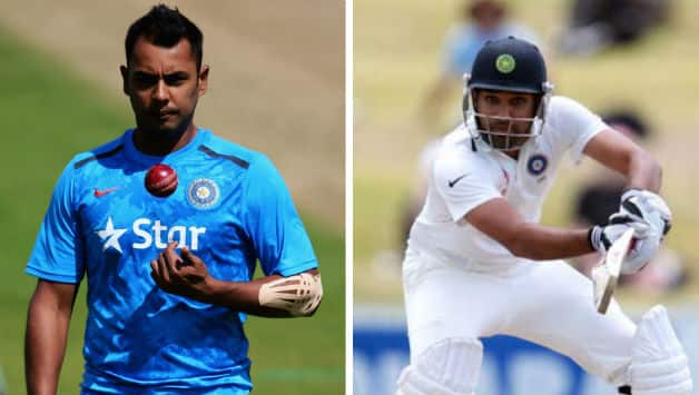 Stuart Binny (left) was picked as the fifth bowler for the fifth Test at The Oval.