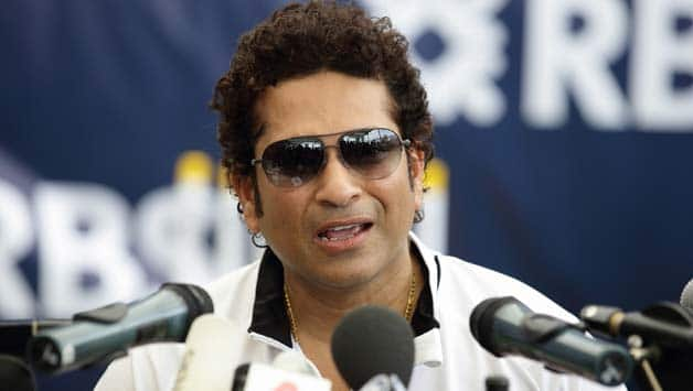 Sachin-Tendulkar-speaks-during-a-press-conference-after-his-masterclass-session-with-young-cricke