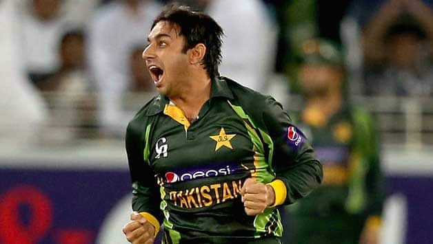 Saeed Ajmal was reported for a suspect action in Sri Lanka © Getty Images