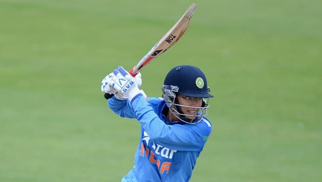 Smriti Mandhana scored 74 in the first ODI © Getty Images