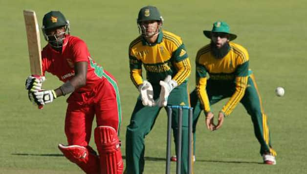 South Africa beat Zimbabwe 3-0 in their bilateral ODI series prior to the Triangular series © AFP