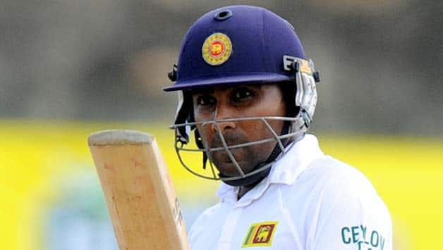 Mahela Jayawardene ended his Test career with a win against Pakistan © AFP