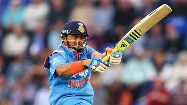 Suresh Raina powered his way to hundred on Wednesday © Getty Images