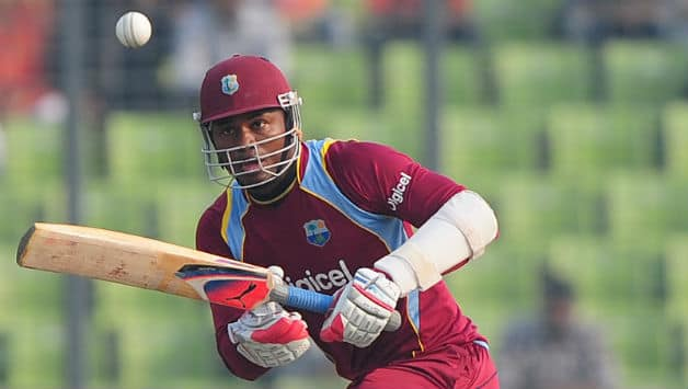 Marlon Samuels hit a brilliant 52-ball 106 in a losing effort against Guyana Amazon Warrios in the 22nd game of the 2014 Caribbean Premier League at Basseterre © AFP (File Photo)