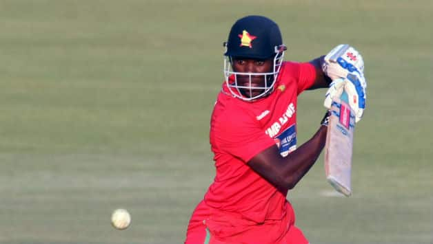 Elton Chigumbura hit an unbeaten 52 from 68 balls to guide Zimbabwe to a historic three-wicket victory over Australia in Harare on Sunday © AFP (File Photo)