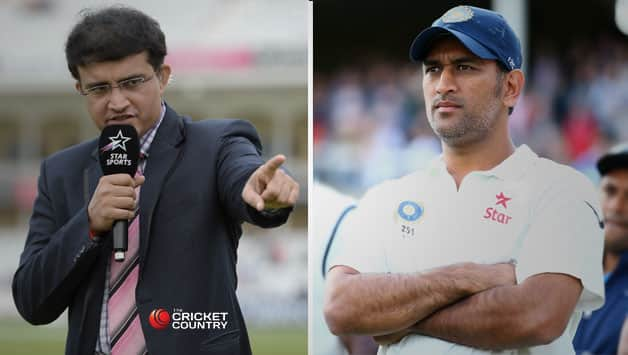 Sourav Ganguly was someone who was constantly pushing, probing and had the  asked the opposition for answers while MS Dhoni has been criticised for his defensive captaincy © Getty Images