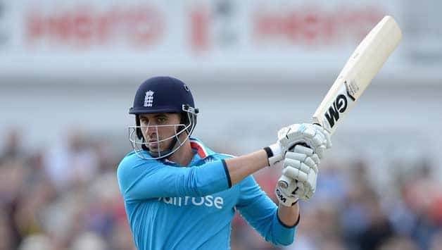 Alex Hales has been the lone bright sport for England in the ODIs so far © Gett\y Images