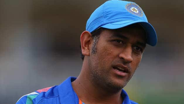 MS Dhoni will be ready for the ICC World Cup 2015 © Getty Images