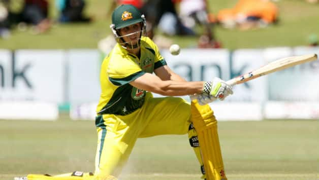 Mitchell Marsh scored 86 runs from just 51 balls against South Africa at Harare © AFP