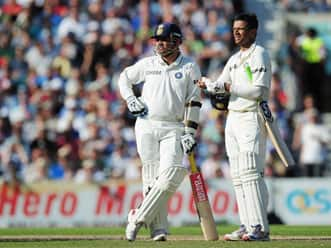 Dravid admits he might have nicked the ball