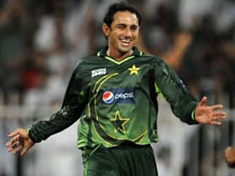 Saeed Ajmal working hard on wicket-taking deliveries