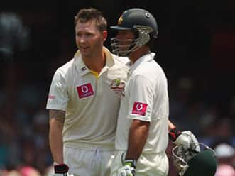 Ricky Ponting and Michael Clarke speaks in the end of day two of SCG Test – video