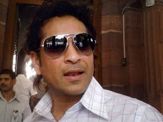 Sachin Tendulkar takes oath to become Rajya Sabha member