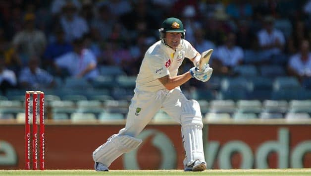 Australia vs South Africa, 3rd Test, Day Four – Michael Clarke wicket