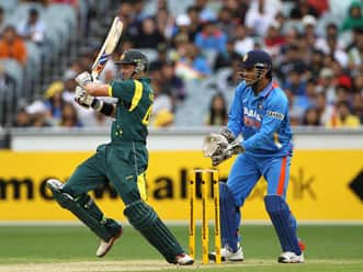 Highlights of Australian innings, India vs Australia, 1st ODI at the MCG, Melbourne