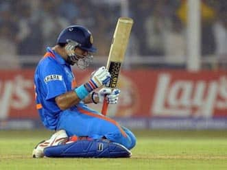Yuvraj knocks Australia out of World Cup