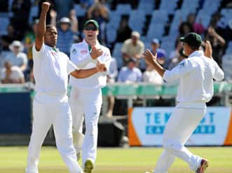 Philander's double strike puts South Africa in command