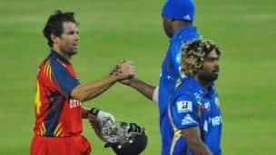 Highveld Lions vs Mumbai Indians, CLT20 2012 Group B match, Johannesburg