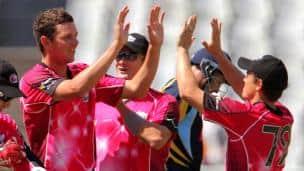Sydney Sixers vs Yorkshire, CLT20 2012 Group B match, Cape Town