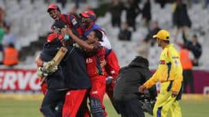 Chennai Super Kings vs Highveld Lions, CLT20 2012 Group B match, Cape Town