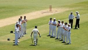 Ricky Ponting's final innings in Test cricket