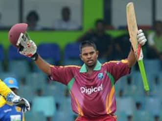 Barath's maiden century shores up West Indies in Colombo ODI