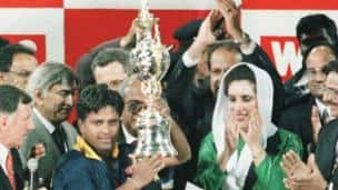 Sri Lanka's victory over Australia in the 1996 World Cup final