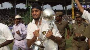 India vs Australia 2001, 3rd Test at Chennai