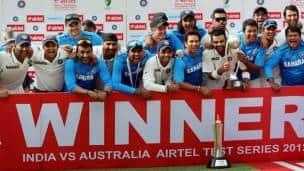 India vs Australia, 4th Test, Delhi