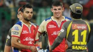 IPL 2013: Royal Challengers Bangalore vs Sunrisers Hyderabad at M Chinnaswamy Stadium
