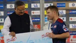 IPL 2013: Delhi Daredevils vs Pune Warriors India at Shaheed Veer Narayan Singh International Stadium