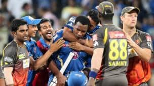 IPL 2013: Mumbai Indians vs Sunrisers Hyderabad at Wankhede stadium