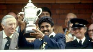 Prudential World Cup 1983 final: India vs West Indies at Lord's
