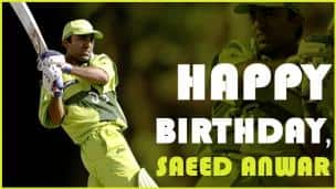 Happy Birthday, Saeed Anwar!