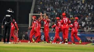 CLT20 2013: Brisbane Heat vs Trinidad and Tobago, Group B match, Ranchi