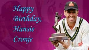 Happy Birthday, Hansie Cronje!