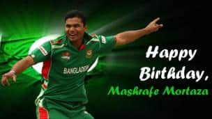 Happy Birthday, Mashrafe Mortaza