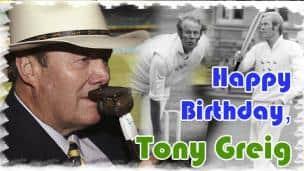 Happy Birthday, Tony Greig!