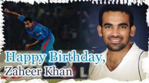 Happy Birthday, Zaheer Khan!