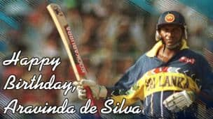 Happy Birthday, Aravinda de Silva!